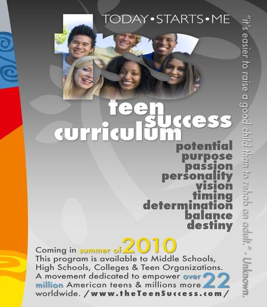 teen success curriculum